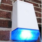 Burglar Alarm Flashing