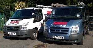 Aardee Electrical Services vans
