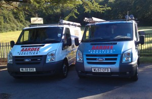 Aardee Electrical Services vans